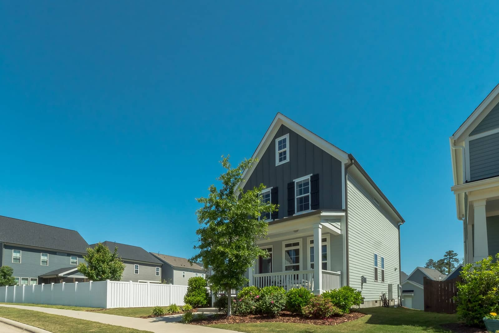 Real Estate Photography in Chapel Hill - NC - USA - Front View
