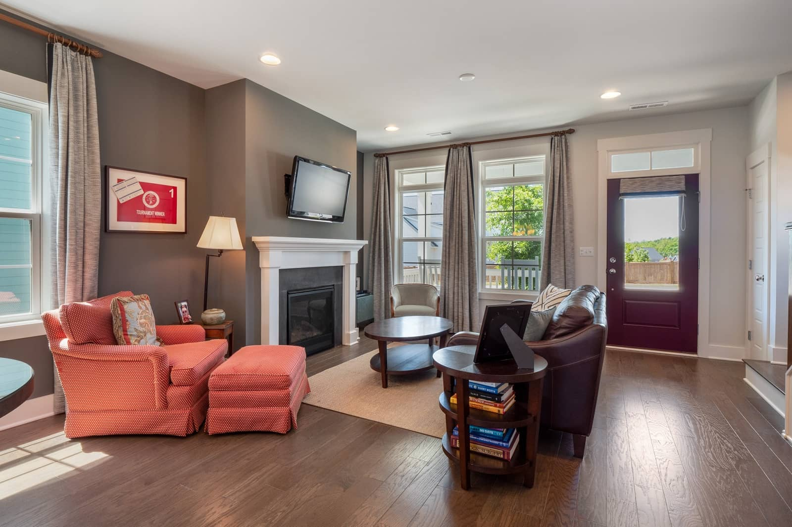 Real Estate Photography in Chapel Hill - NC - USA - Living Area View