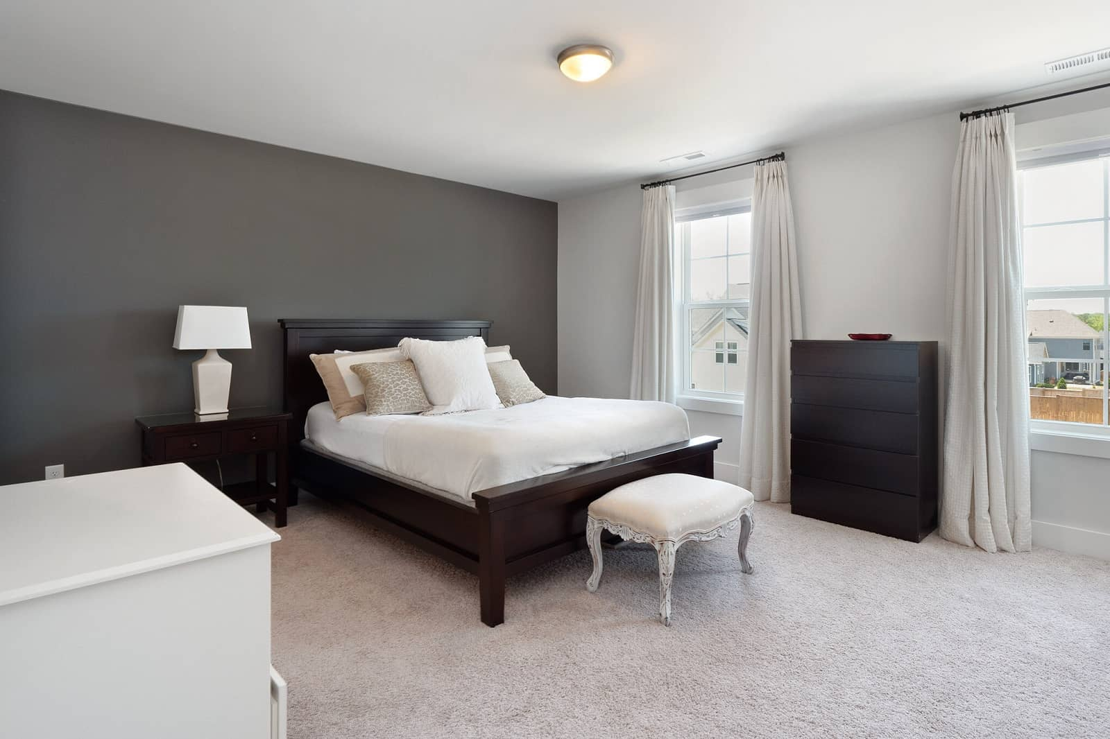 Real Estate Photography in Chapel Hill - NC - USA - Bedroom View
