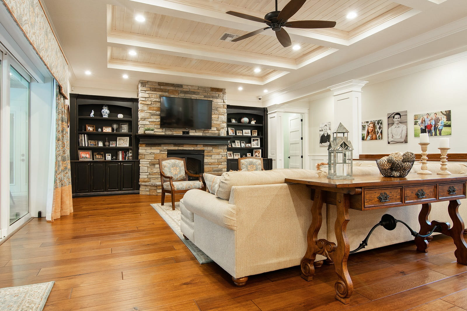 Real Estate Photography in Lakeland - FL - USA - Living Area View