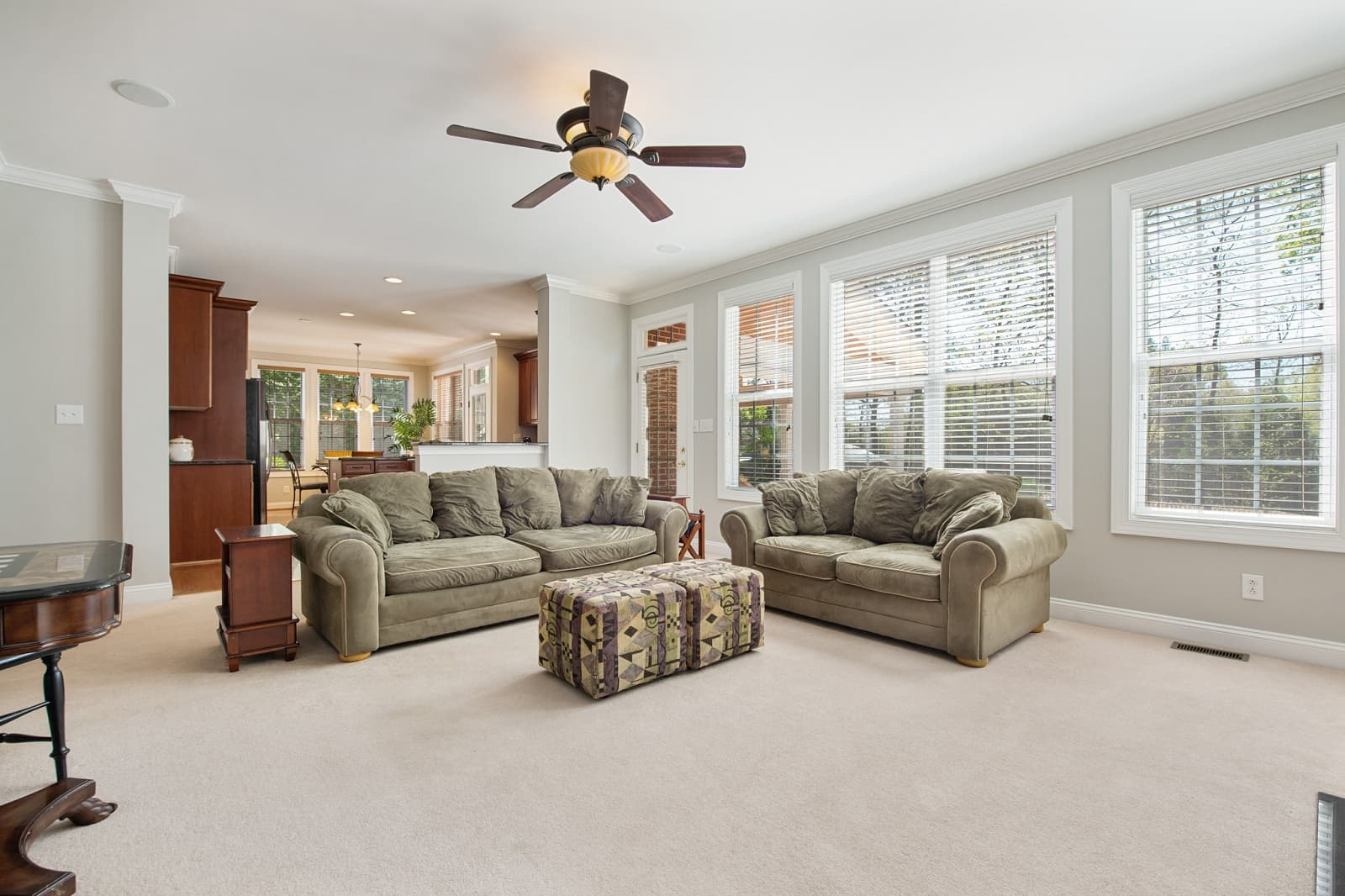 Real Estate Photography in Matthews - NC - USA - Living Area View