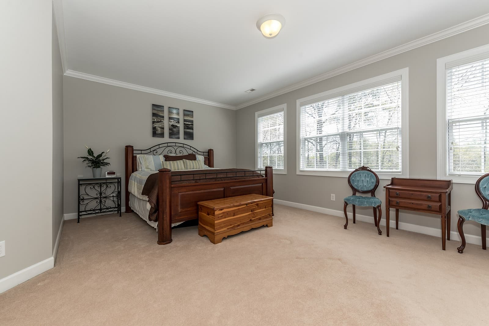 Real Estate Photography in Matthews - NC - USA - Bedroom View