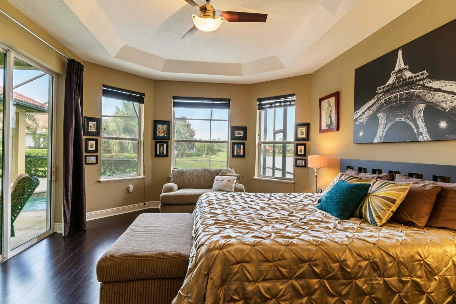 Real Estate Photography in Sarasota - FL - USA - Bedroom View